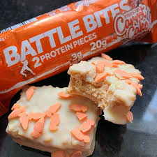 Battle Bites Frosted Carrot Cake Product Image